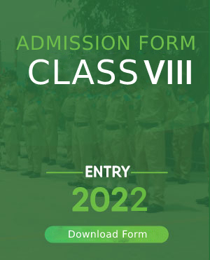 Entry 2022 Class XIII Admission Form